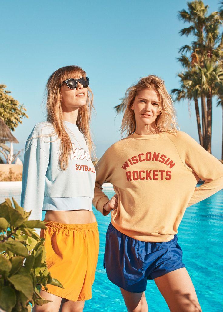 BDG Wisconsin Rockets Yellow Sweatshirt