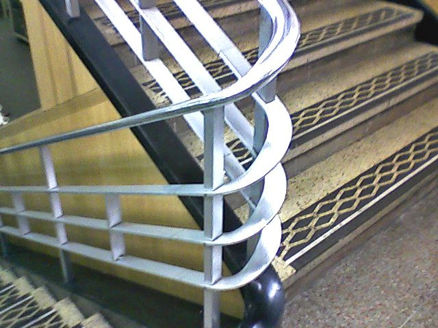 Woolworth 39 S Store Bakersfield Stairwell By Vitricart