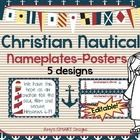 Sail+into+a+new+school+year+with+these+nautical+desk+nameplates+with+matching+wall+scripture+posters.++There+are+5+designs!++  Powerpoint+format--Y...