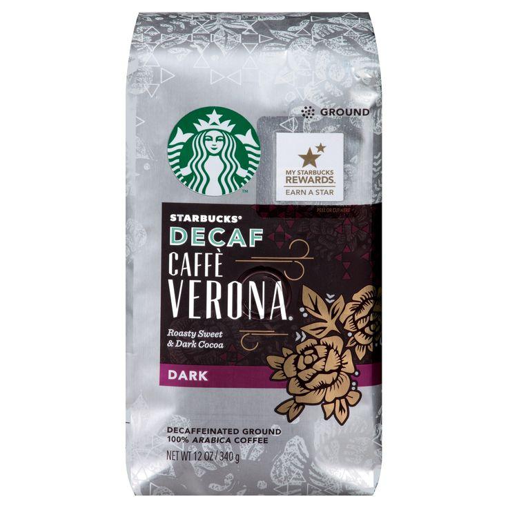 Starbucks Caffè Verona Blend Decaf Ground Coffee 12oz