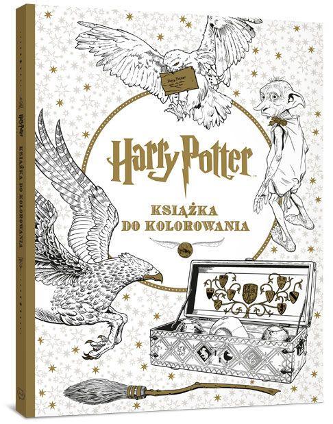 Harry Potter. Książka do kolorowania - Opracowanie zbiorowe za 26,49 zł | Książki empik.com