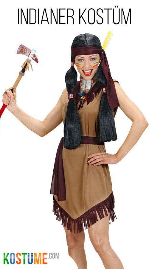 Sexy Indianerin Kriegerin Kostum Fur Damen Bei Kostume Com