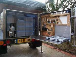 Land Rover Anorak Overland Equipment--Kitchen