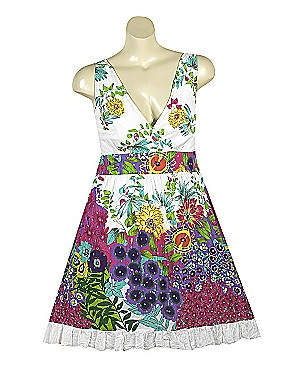 A fun, flirty & floral sundress.Sonsy Bath, Retail Therapy, Sonsy Com, Floral Sundresses, Summer Lovin, Bath Beautiful, Things Clothing, Elastic Panels, Floral Prints Dresses