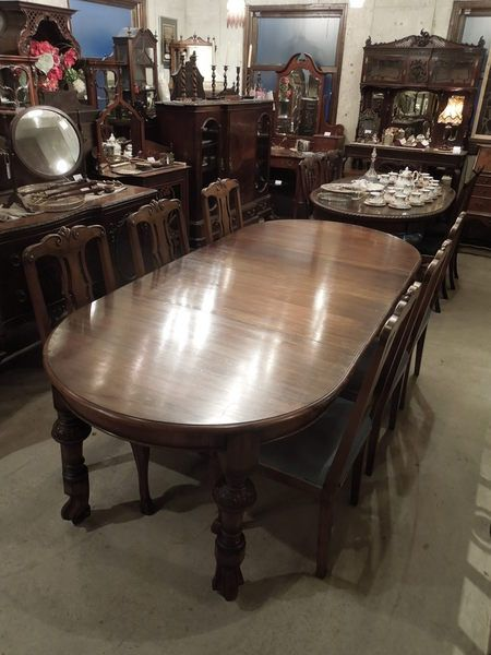 wind out table 1880's