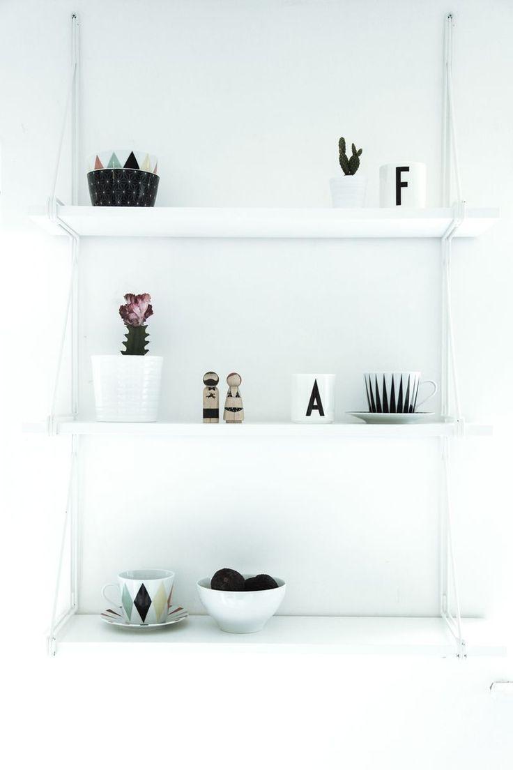 ikea string shelves