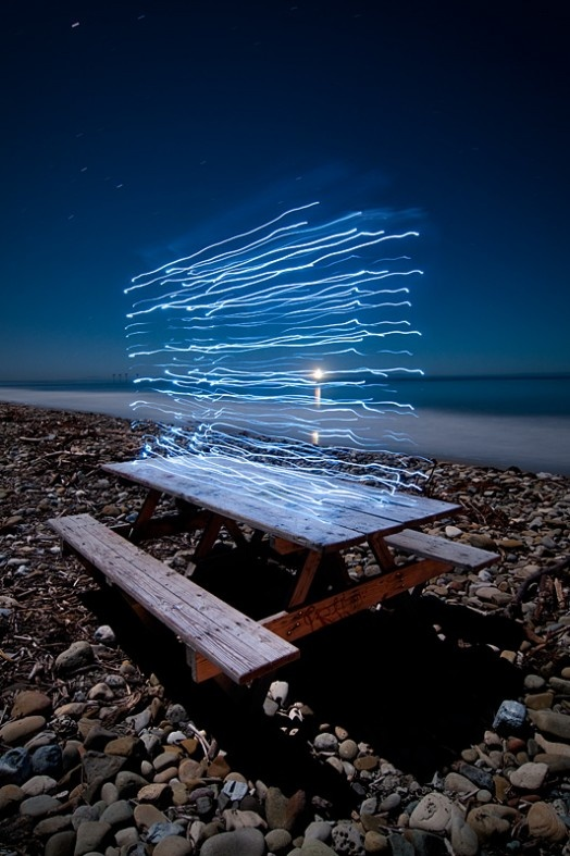 light painting #art #arte