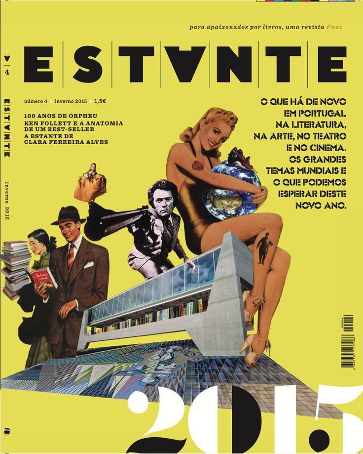 Revista Estante nº 4 - O que há de novo em Portugal na Literatura, na Arte, no Teatro e no Cinema. Ilustração de Richard Câmara. Edição de Adagietto - http://www.adagietto.pt #revistaestante #richardcamara #revistas #magazines