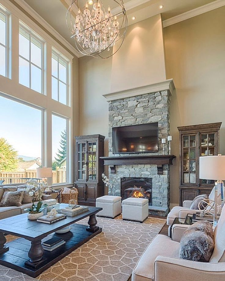 It would be very difficult getting us out of the house if this was our living room! By Clay Construction Inc