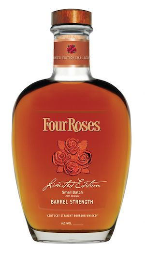Four Roses 2015 Limited Edition Small Batch bourbon, marking the retirement of master distiller legend Jim Rutledge.