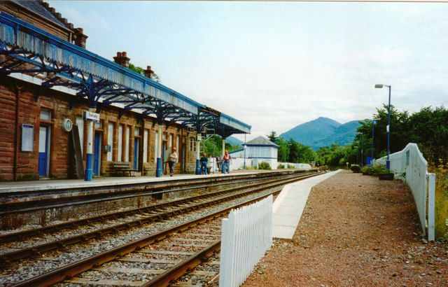 Dalmally Station, 1994