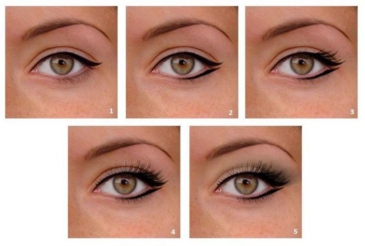 Maquillage pour agrandir les yeux