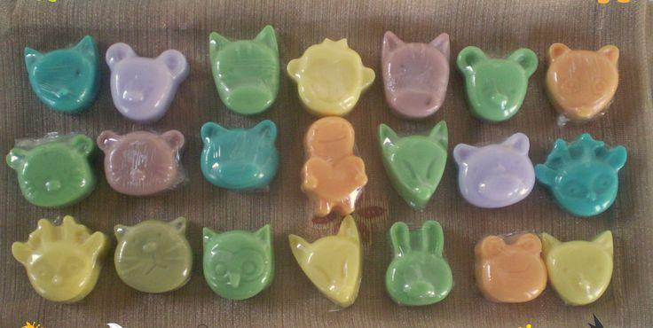 little animal soaps