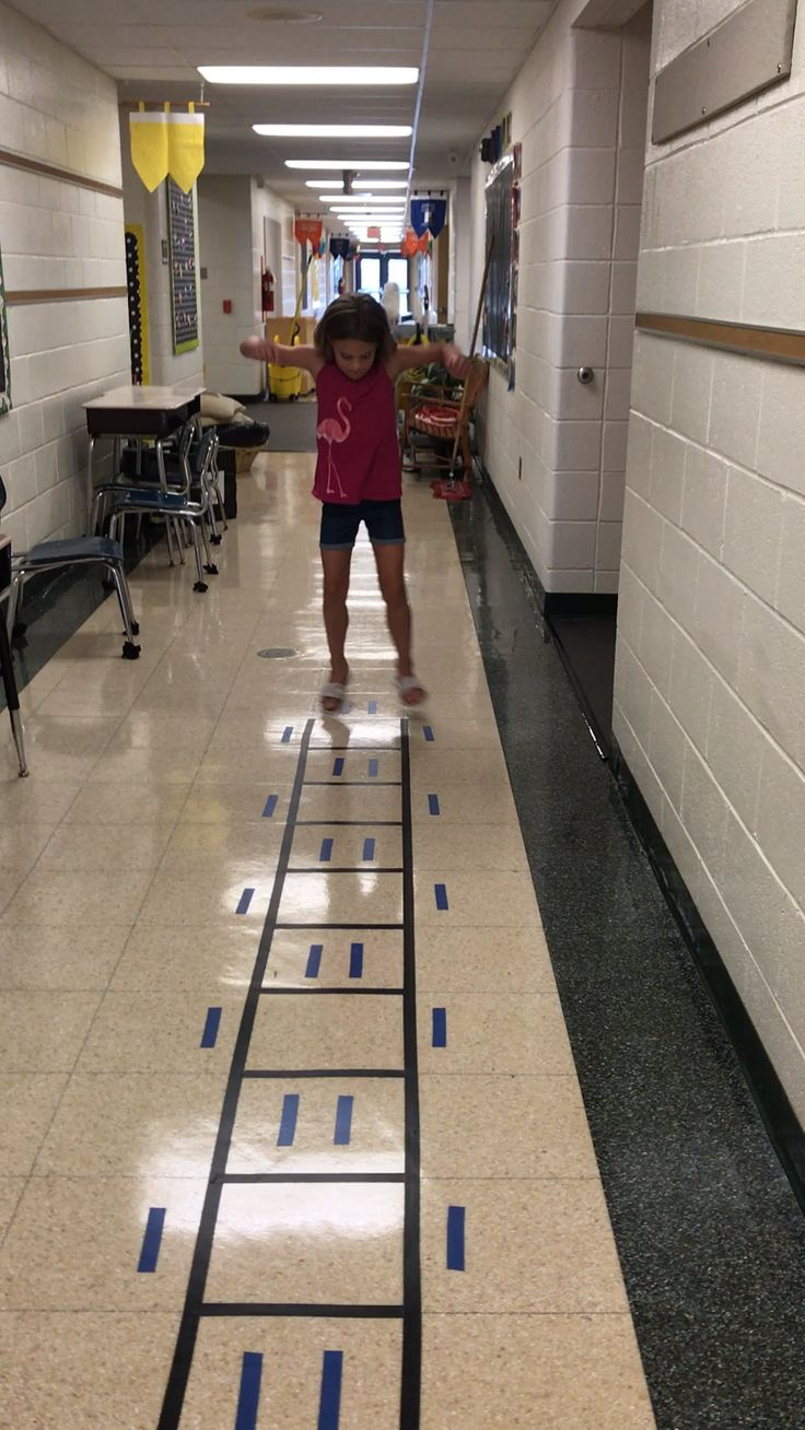 Increase Activity in School with a Movement Maze