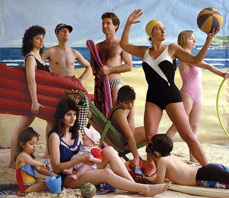 The bathers (1989) by Anne Zahalka