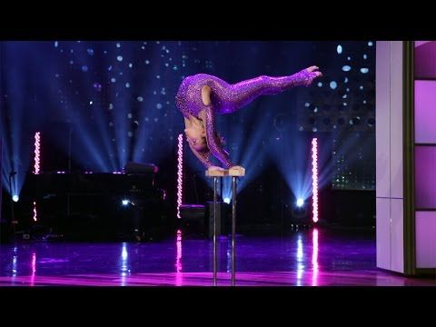 'AGT'Finalist Sofie Dossi's Gravity-Defying Performance!