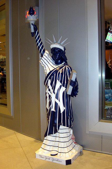 NY - Bronx: Yankee Stadium - Statues on Parade by wallyg, via Flickr