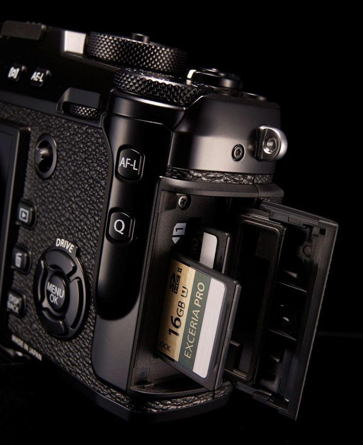 Nowe gniazdo Dual karty SD dla X-Pro 2. Profesjonalni fotografowie spodoba.
