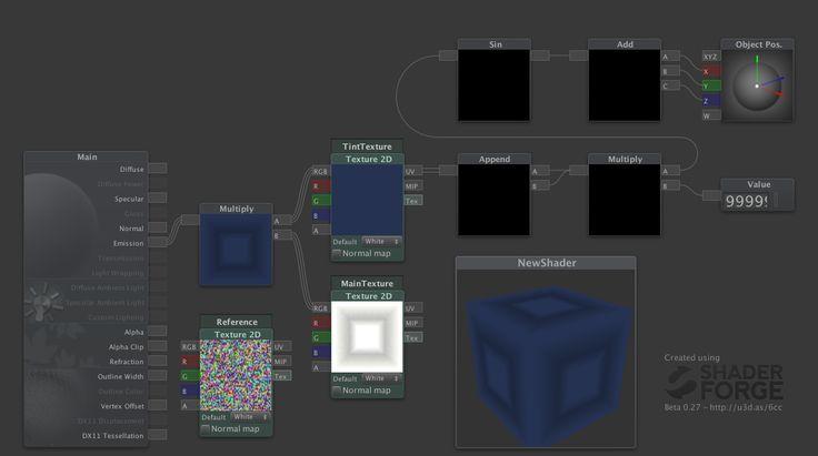 World Position based Colour randomisation (great for foliage)