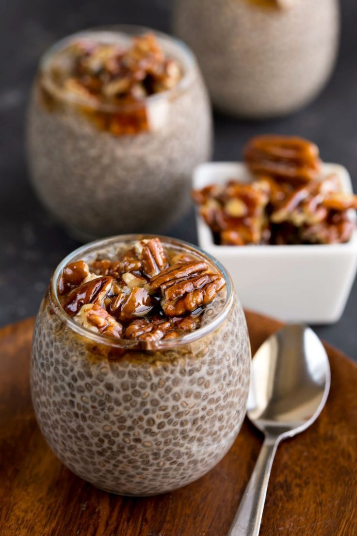 9 Protein-Packed Chia Seed Pudding Recipes. Fuel up, Workout!  #chiaseeds #energy