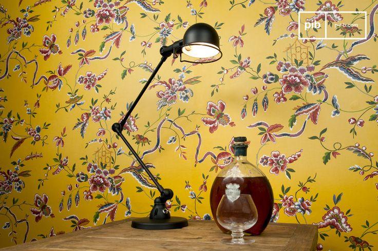 Non potrete non innamorarvi di questa lampada da tavolo, della gamma Signal di Jieldé, grazie alle sue linee semplici ed eleganti e le bellissime finiture nere