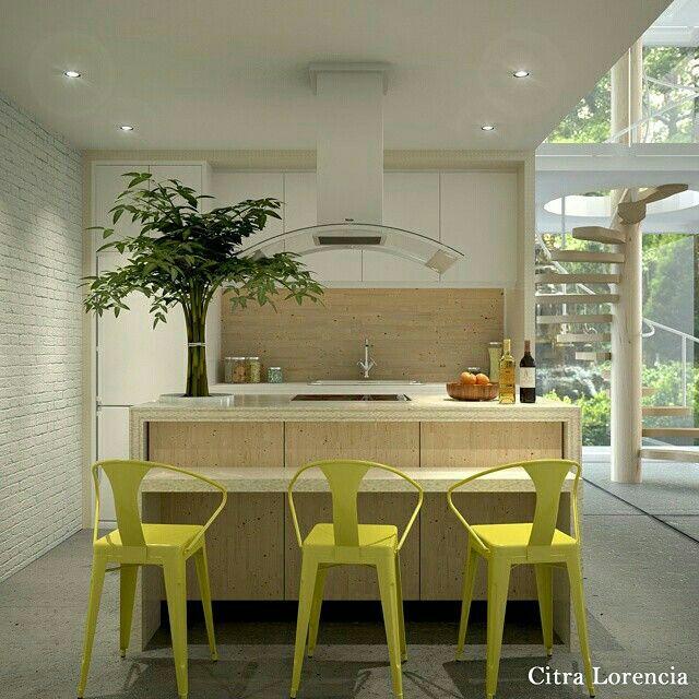 A natural kitchen