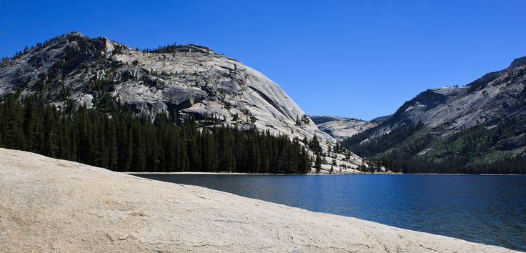 Tenaya Lake, Yosemite... Frisk og uimodståelig svømmetur!