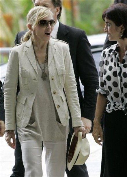 Claudia Matarazzo e Madonna no Palácio dos Bandeirantes em São Paulo #madonna #claudiamatarazzo