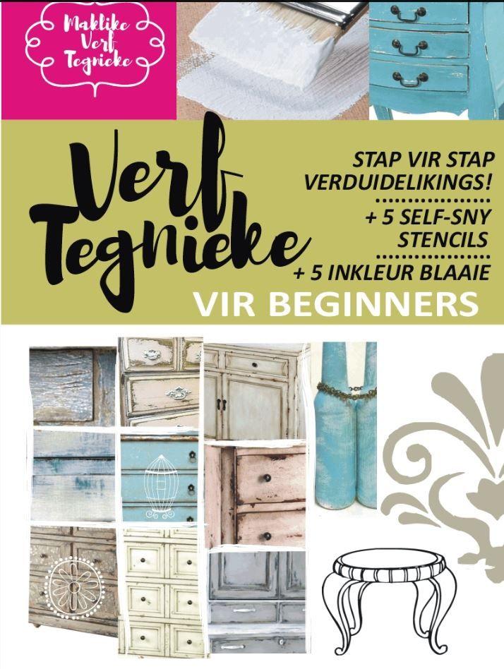 Maklike Verf Tegnieke vir Beginners ~ leer vinnig en maklik, bestellings: renee@diyshabby.co.za Whatsapp: 0763023396