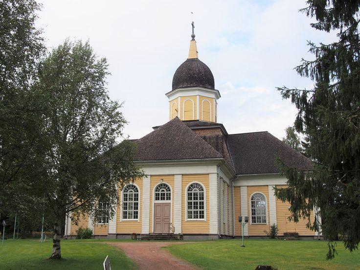Hyrynsalmen kirkko, Suomi Finland
