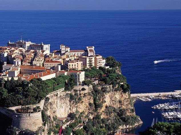Monaco-Ville 'The Rock', Monaco... Beautiful views and fantastic aquarium... Plus,  seeing the castle/changing of the guard and the burial site of Princess Grace... Wonderful!