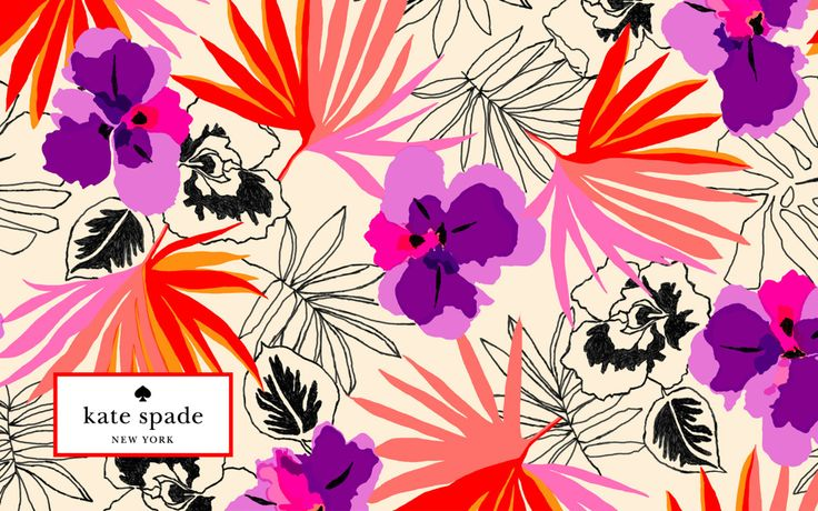 travel to tahiti with our pattern of the month. it's time to update your desktop's wallpaper.