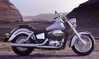 Honda Shadow, classic looking bike.