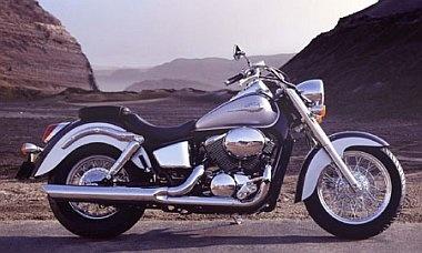 Honda Shadow, classic looking bike.