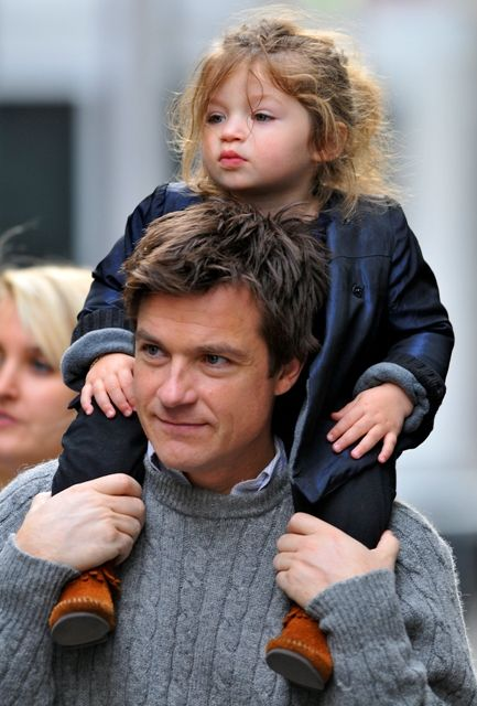 Happy Daddy's Day: The top 10 hottest celebrity dads!! TOP 5: Jason Bateman with the adorable Francesca
