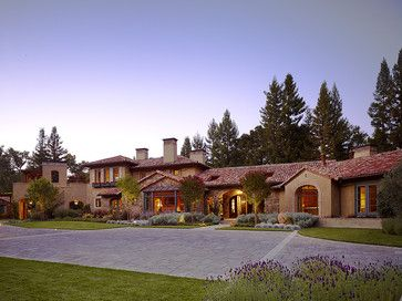 19 Best Hacienda Spanish Ranch Exterior Images On