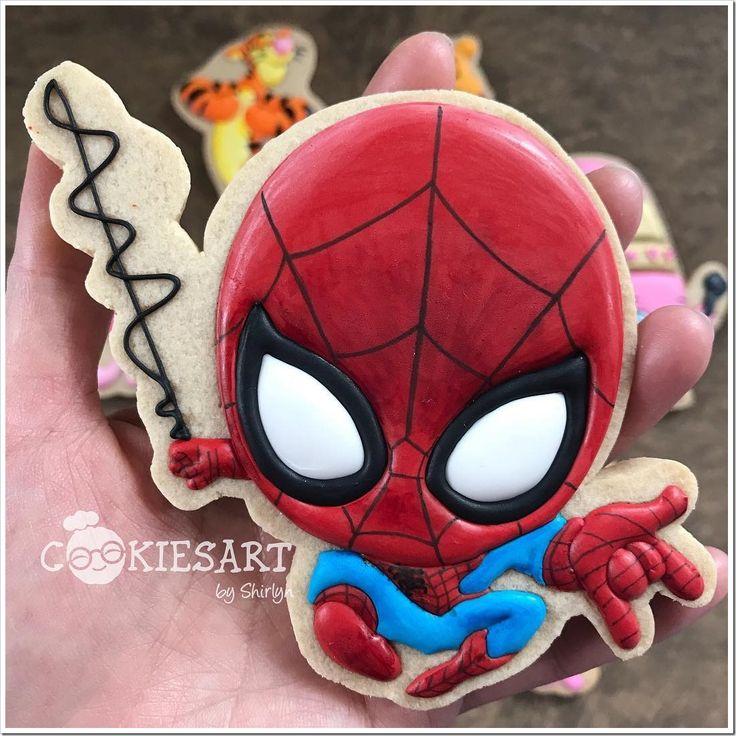 Spider-Man Cookies