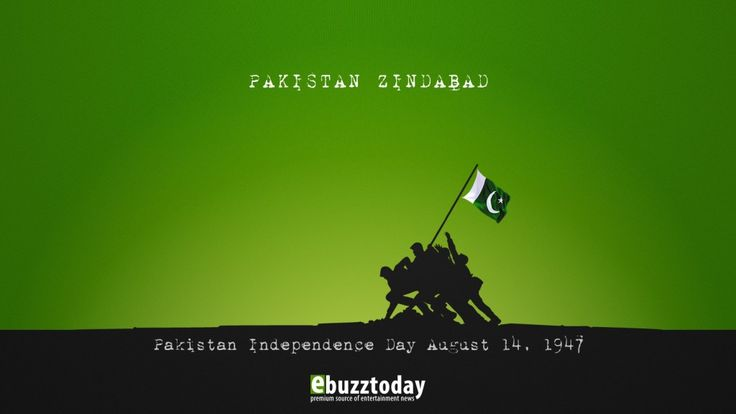 14th August 2013! A day every Pakistani is proud of Pakistan