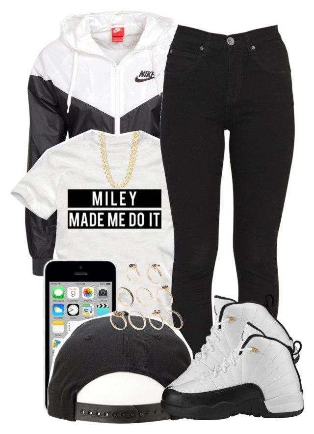 """""""i like this."""" by jadeessxo ❤ liked on Polyvore featuring moda, NIKE, Cyrus, Dr. Denim, R.J. Graziano e ASOS"""