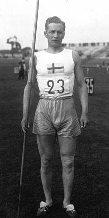 Gunnar Lindström   Gunnar Lindström – Wikipedia. Silver i spjutkastning vid OS i Paris 1924.