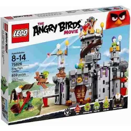 Lego 75826 Angry Birds King Pigs Castle 859 Pcs- $ 5.299,99