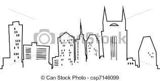 nashville skyline silhouette - Google Search