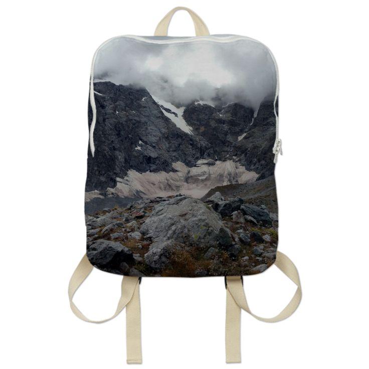 0000000P/Glacier noir backpack