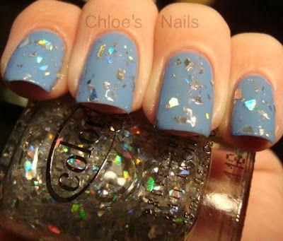 Color Club - Diamond Drops: 2012 Color, Nails Art, Chloe Nails, Fun Nails, Nails Fun, Nails Color, Nails Polish, Nails Make Up, Nails Obsess