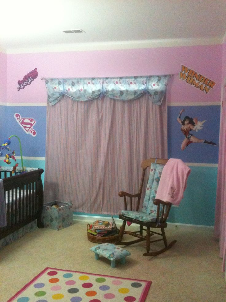 My Baby Girl S Nursery: 17 Best Images About Super Hero Room For Girls On