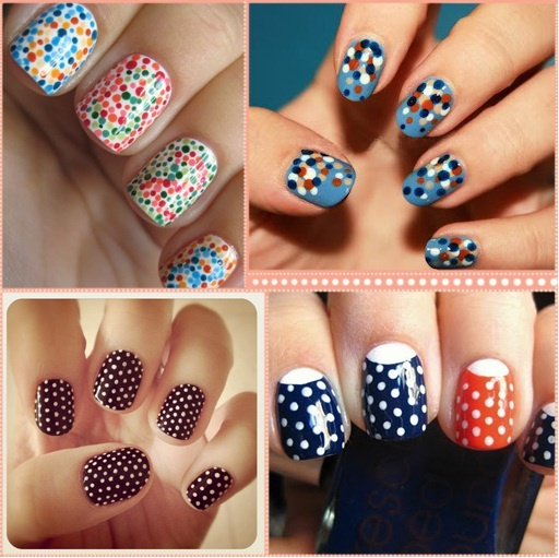 NAILS - how to make your own dotting tools | tutorial in picture: Nails Nails, Nails Art, Nailart, Nails Design, Polka Dots Nails, Nails Ideas, Nail Design, Polkadots, Nails Tutorials