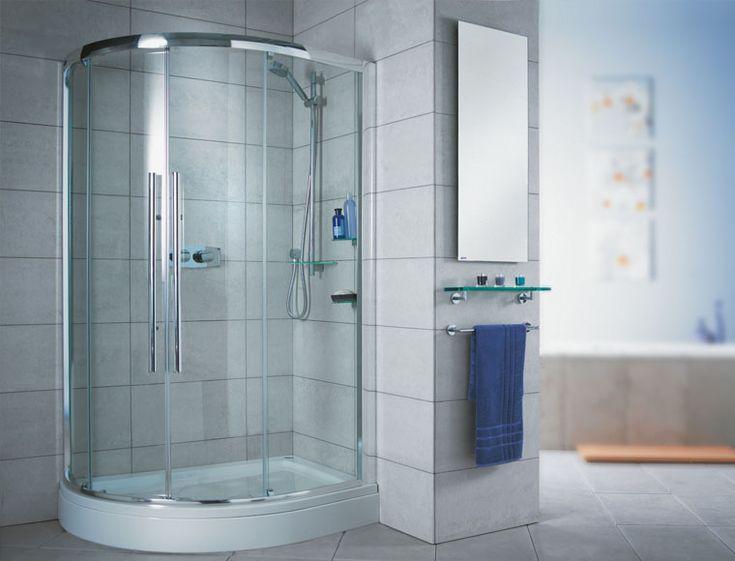 shower stall one piece