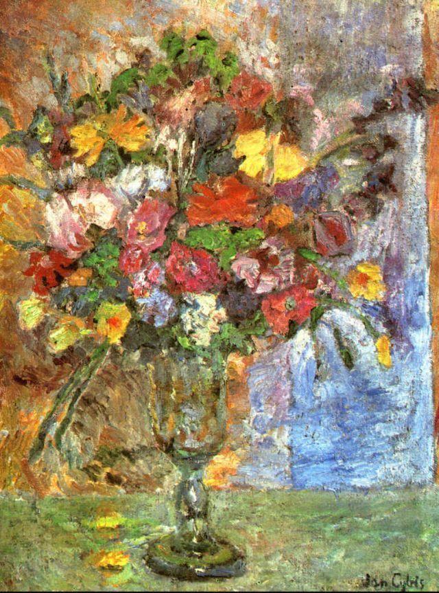 Jan Cybis – Martwa natura z kwiatami