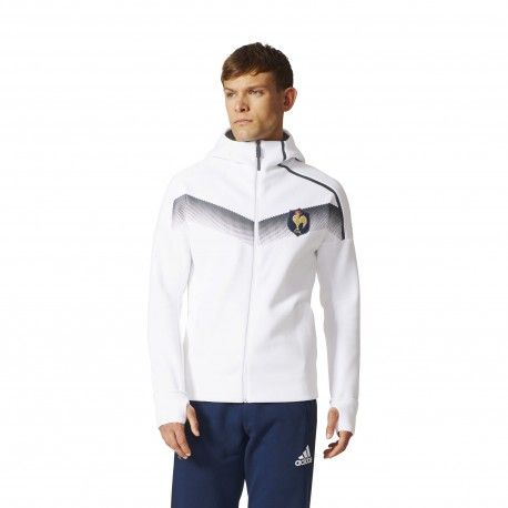 veste blanche rugby adidas
