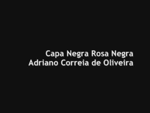 Capa Negra Rosa Negra Adriano Correia de Oliveira